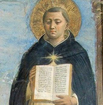 Oración de Santo Tomas para pedir perdón