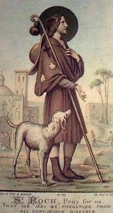 Oración de San Roque por los enfermos